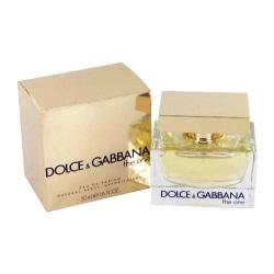 лучшие ванильные ароматы Dolce & Gabbana The One