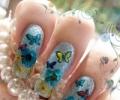 Дизайн ногтей с сухоцветами - необычно и актуально