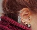 Прокол ушей: древнейший способ украшения