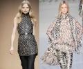 Туники 2011: самые модные модели