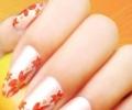 Китайская роспись ногтей – маникюр во власти цветочных фантазий