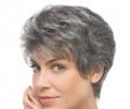 Окрашивание седых волос: приоритет - естественности