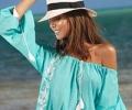Туники для пляжа: мода плюс защита