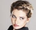 Плетение кос на средние волосы – 7 вариантов причесок