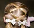 Праздничные прически для девочек: красиво, удобно, безопасно