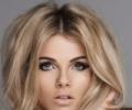 Новогодний макияж для серых глаз: сияющий взгляд