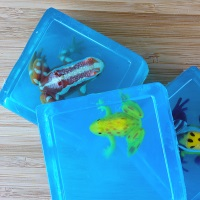 детское глицериновое мыло с игрушками