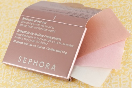 матирующие салфетки Sephora