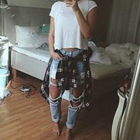 стиль гранж в одежде