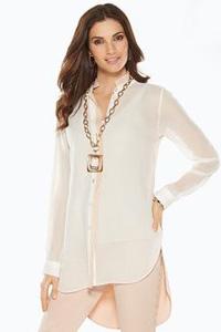 Белая туника – универсальная летняя одежда