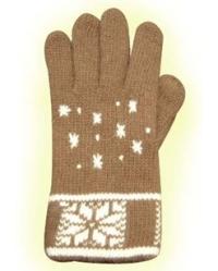 Вязаные перчатки: уютный аксессуар