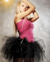 Юбка из сетки - одежда современной принцессы