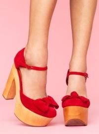 как носить туфли на платформе