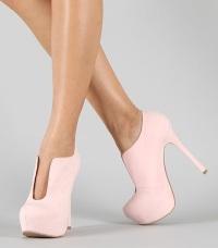стильные туфли на платформе
