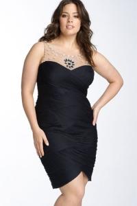 Вечерние платья для полных женщин: шикарный выход