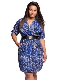 стильные платья баллон для полных женщин